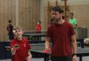 B-Schüler: Eltern-Kind-Tischtennis