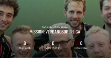 """Update """"Mission: Verbandsoberliga"""" unterstützen – mehr als gedacht!"""